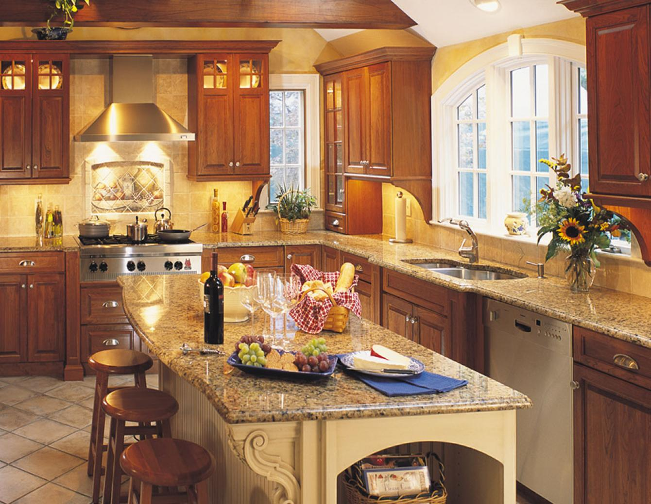 Traditional kitchen design gallery dover woods for Gallery kitchens kitchen design